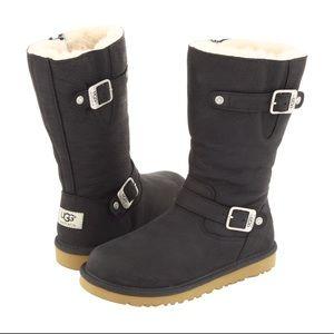 UGG Kensington Unisex Leather Winter Boots